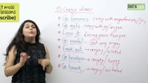 Learn English - 15 Crazy idioms ( Spoken English lessons)