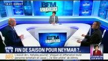 PSG: Neymar pourrait être absent pendant trois mois