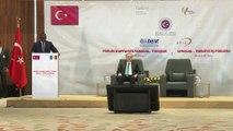 Senegal Cumhurbaşkanı Sall, Türkiye-Senegal İş Forumu'nda - DAKAR