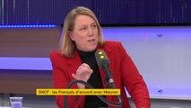 """SNCF : """"Les régions, comme elles sont asphyxiées, vont abandonner certaines lignes. (...) On saccage le rail et on veut faire croire que les cheminots sont des privilégiés"""", explique Danielle Simonnet #TEP"""