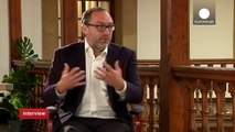 "Wikipedia co-founder Jimmy Wales -""It is about international people working together"""