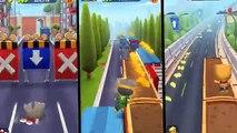 iGameMix/Talking Tom Gold Run,Frosty tom,Super tom Vs Talking Ginger/Gameplay makeover for kid #12