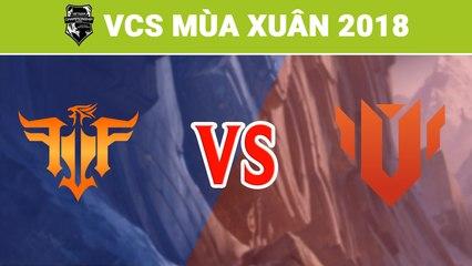 Highlights: FFQ vs UTM | Friends Forever vs UTM Esports | VCS Mùa Xuân 2018