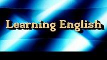 Learning English -- Lesson Twenty Eight (Intonation)