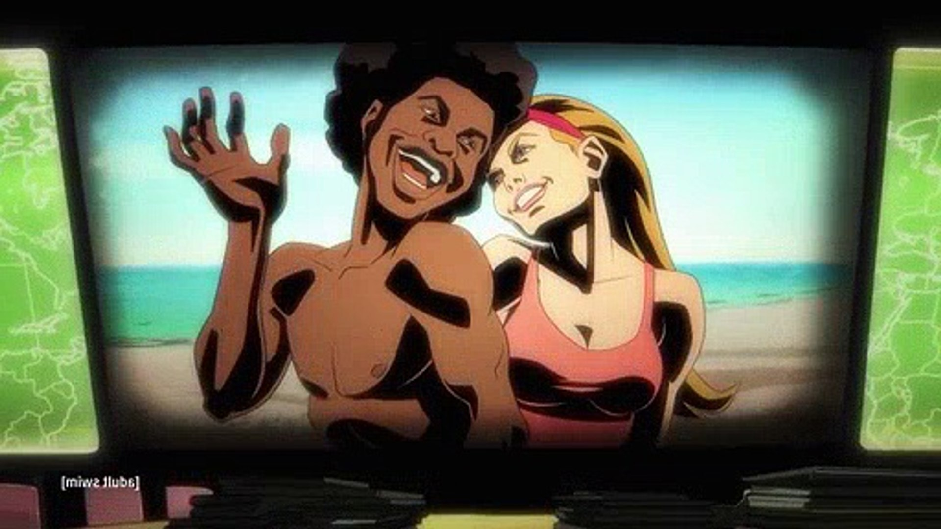 Black Dynamite S02E02 Black Jaws  Or Finger Lickin Chicken Of The Sea