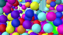 Magic 3D Indoor Playground Tunnel for Kids to LEARN COLORS Fun Cool Surprise Eggs Balls Part 1