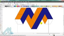 how to make 3d logo 4g in coreldraw - video dailymotion