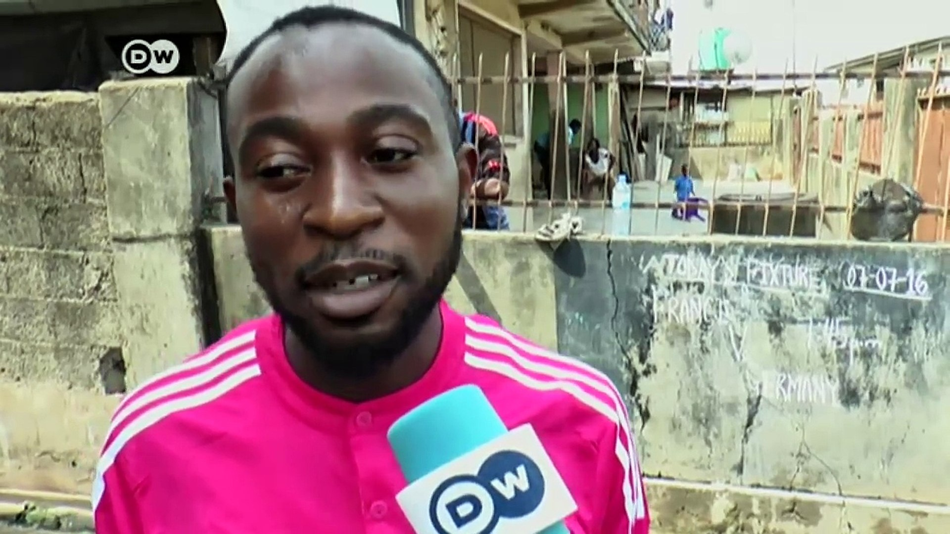 Euro 2016: African public viewing   DW News