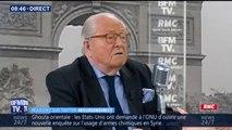 """Jean-Marie Le Pen à propos de sa fille: """"Je ne vois pas en quoi je lui sape le travail"""""""
