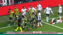Beşiktaş 2 - 2 Fenerbahçe Ziraat Türkiye Kupası Yarı Final 1.Maçı