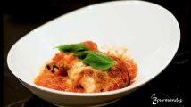 Recette : Roulades d'aubergines à la mozzarella
