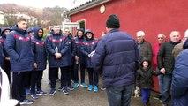 D!CI TV : l'équipe de France U18 à Digne les Bains contre l'Angleterre