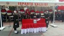 Jandarma Uzman Çavuş Burhan Açıkkol için memleketinde tören