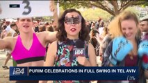 DAILY DOSE | Purim celebrations in full swing in Tel Aviv | Friday, March 2nd 2018