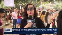 TRENDING | Israelis hit the streets for Purim in Tel Aviv | Friday, March 2nd 2018