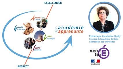 Le projet académique : Dijon académie apprenante