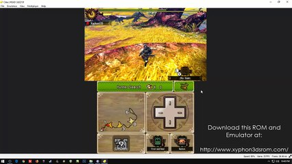 Monster Hunter 4 Ultimate FREE 3DS ROM CITRA PC