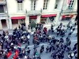 Manif des lycéens- Bordeaux - 29/11/07- baston