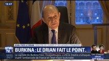"""Burkina: """"Ils visaient aussi la France"""", a déclaré Jean-Yves Le Drian"""