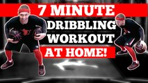 7 Minute Basketball Dribbling Workout At Home [New 2018]