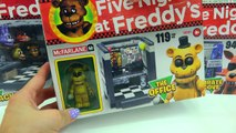 Five Nights At Freddys FNAF Show Stage, Office Playsets + LEGO Surprise Blind Bags