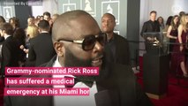 Rapper Rick Ross Found Unconscious In Miami Home