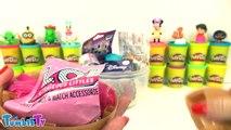LOL Bebek Sürpriz Yumurta Oyun Hamuru - Tsum Tsum Cicibiciler