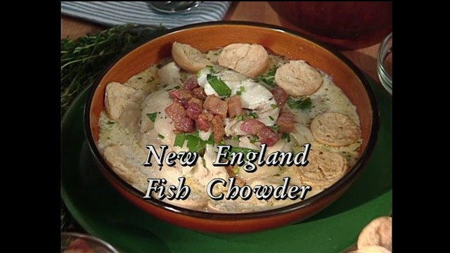 New England Fish Chowder with Jasper White (In Julia's Kitchen with Master Chefs)
