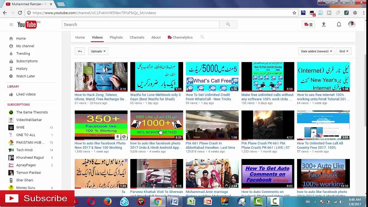How to Auto Follower FB (2017) Free Followers new Urdu & Hindi