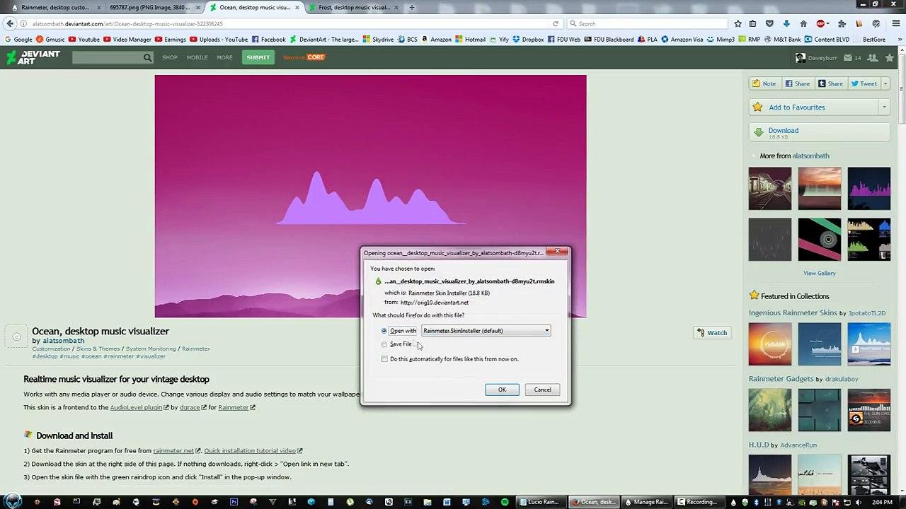 Overwatch Lucio Live Equalizer Music Rainmeter Skin Desktop Customization  Theme