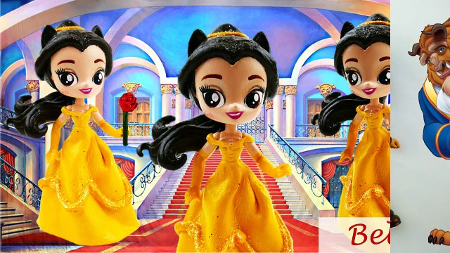 Beast Doll Custom Disney Beauty and the Beast Equestria Girls Minis Transformation