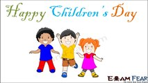 ExamFear Team wishes Happy Children's Day