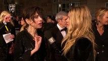 Sally Hawkins Red Carpet Interview _ EE BAFTA Film Awards 2018
