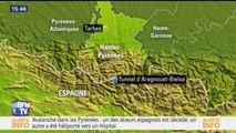 Pyrénées: ce que l'on sait sur les cinq skieurs emportés par une avalanche faisant un mort et un blessé