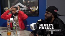 """Nipsey Hussle """"If I Ruled the World"""" Freestyle @ Hot 97 """"In Flex We Trust"""" with Funkmaster Flex, 02-21-2018"""