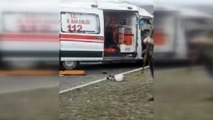 Hasta taşıyan ambulans kaza yaptı: 2 ölü, 6 yaralı