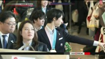 NHK Newsline 2018.02.26 - Japanese athletes welcomed home (NHK WORLD TV)