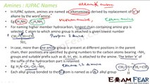 Chemistry Amines part 5 (IUPAC names nomenclature) CBSE class 12 XII