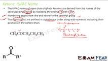 Chemistry Aldehydes Ketones part 4 (Ketones Common, IUPAC names nomenclature) CBSE class 12 XII
