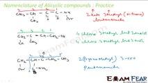 Chemistry Organic Chemistry Basics part 13 (IUPAC nomenclature Practice) CBSE class 11 XI