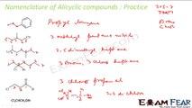 Chemistry Organic Chemistry Basics part 12 (IUPAC nomenclature Practice) CBSE class 11 XI