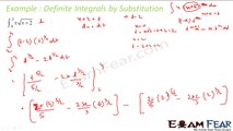 Maths Integrals part 12 (Integration by substitution: Formula) CBSE