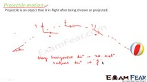 Physics Motion in plane part 22 (Projectile motion) CBSE class 11