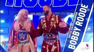 Charlotte Flair & Bobby Roode Vs Nia Jax & Apollo - Mixed Match Challenge Highlights