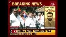 Congress, BJP, JDS Workers Clash In Bengaluru After Cong MLA's Son Surrenders