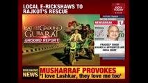 Battleground Gujarat : India Today Ride With Local E-Rickshaw In Rajkot