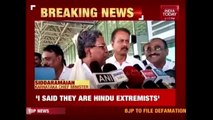Siddaramaiah Says BJP-RSS Are Hindus Without Humanity