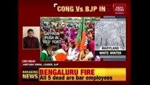 Ahead Of Polls, Congress-BJP Fight Intensifies In Karnataka; Yogi Attacks K'taka Government