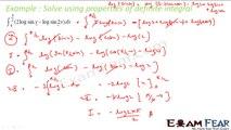 Maths Integrals part 45 (Solve using properties of definite integrals) CBSE class 12 Mathematics XII