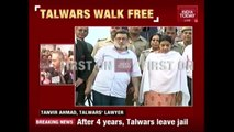 Parents Of Aarushi Talwar Walk Out Of Dasna Jail After 4 Years Of Imprisonment